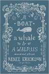 A boat a whale